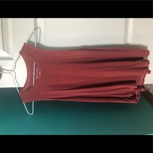 american eagle red tank top